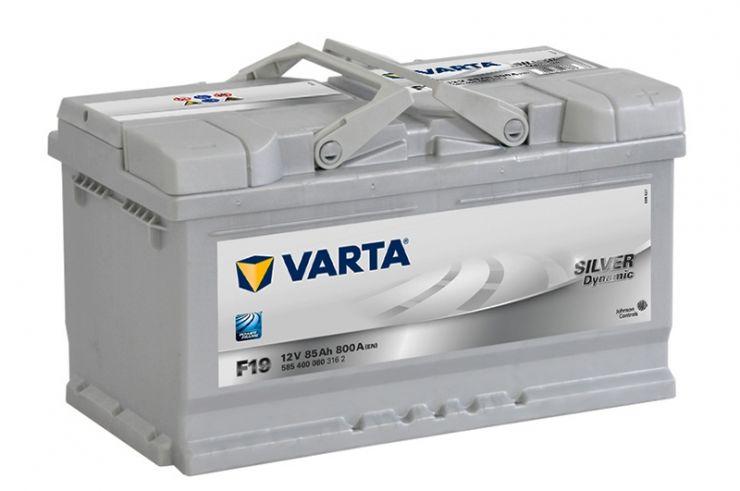 Автомобильный аккумулятор АКБ VARTA (ВАРТА) Silver Dynamic 585 400 080 F19 85Ач ОП