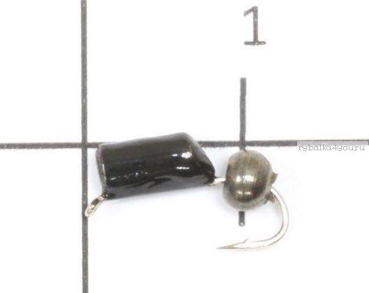 """Мормышка True Weight """"Гвоздешарик"""" гвоздик d3,0 шарик черная латунь"""