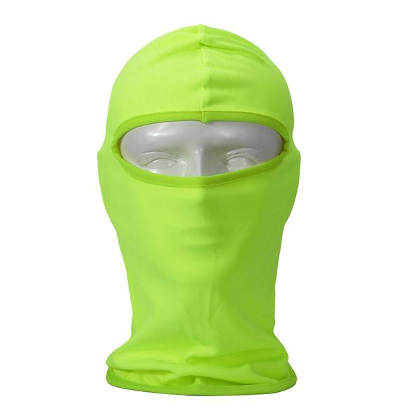 Балаклава из полиэстера зеленая