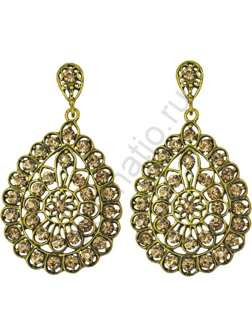 Серьги Taya LX T-B-11254 EARR GOLD