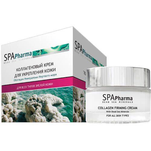 Коллагеновый крем для укрепления кожи SpaPharma (Спа Фарма) 50 мл