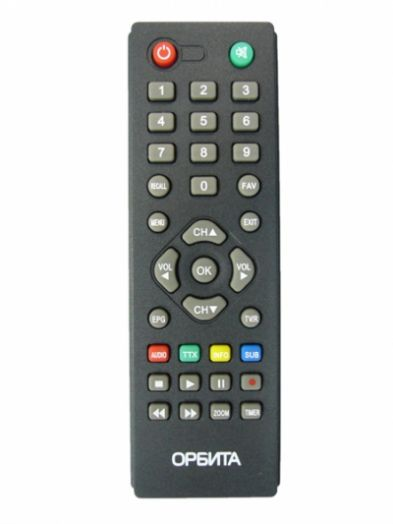 ТВ пульт к циф. ресиверу DVB-T2 Орбита 915/916*