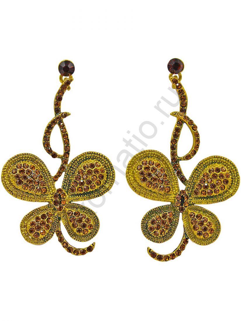 Серьги Taya LX T-B-11283 EARR D.GOLD
