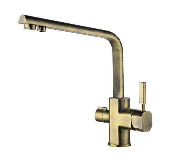 Kaiser Decor 40144-3 Bronze Бронзовый Смеситель для кухни под фильтр