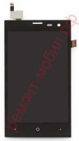 Дисплей для Highscreen Zera S в сборе с тачскрином ( Rev.S )