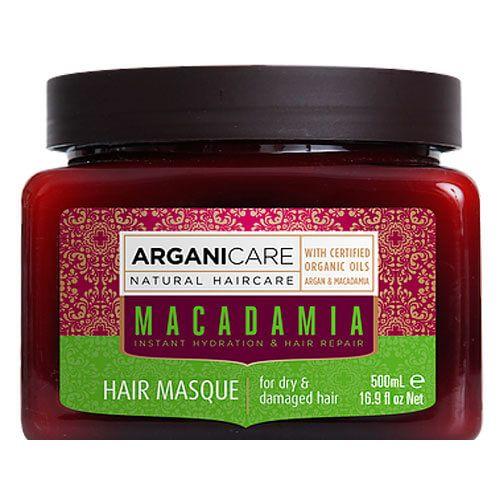 Маска для сухих и поврежденных волос с маслом Макадамии ArganiCare (АрганиКеа) 500 мл