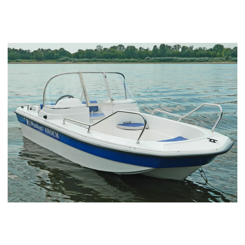 Wyatboat-430DCM (тримаран) NEW!