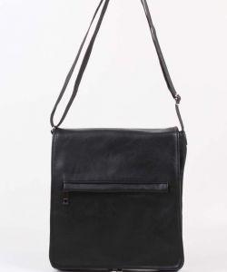 Чёрная молодёжная сумка Медведково