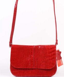 Красная женская сумка Медведково