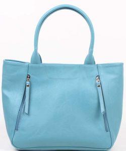 Голубая женская сумка Медведково