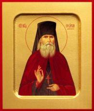 Икона Георгий Даниловский (рукописная)