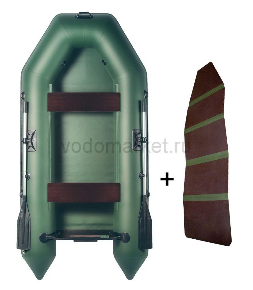 Аква 2800 + складная слань (Лодка ПВХ)