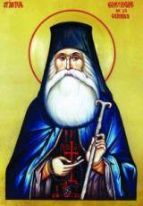 Икона Георгий Черникский (рукописная)