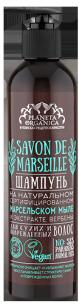 Шампунь для сухих и поврежденных волос Savon de Marseille