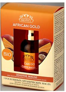 Масло золотое для восстановления и питания кончиков волос