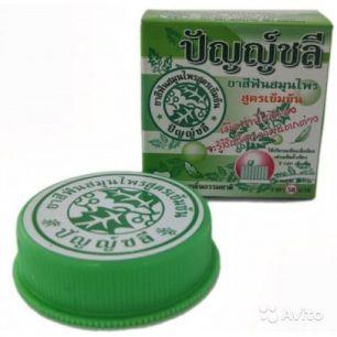 Зубная паста тайская ТРАВЯНАЯ  Herbal Clove Toothpaste