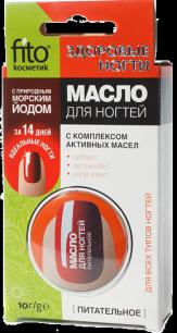 """""""fk"""" Масло для ногтей """"Здоровые ногти"""" питательное, 10 г/12 шт./"""
