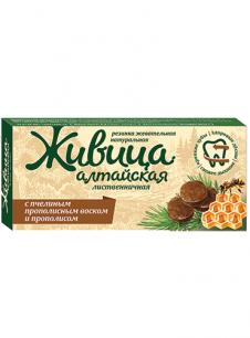 """""""Живица Алтайская"""" с прополисным воском и прополисом"""