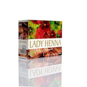 Светло-коричневый - краска для волос на основе  хны LADY HENNA (№5)