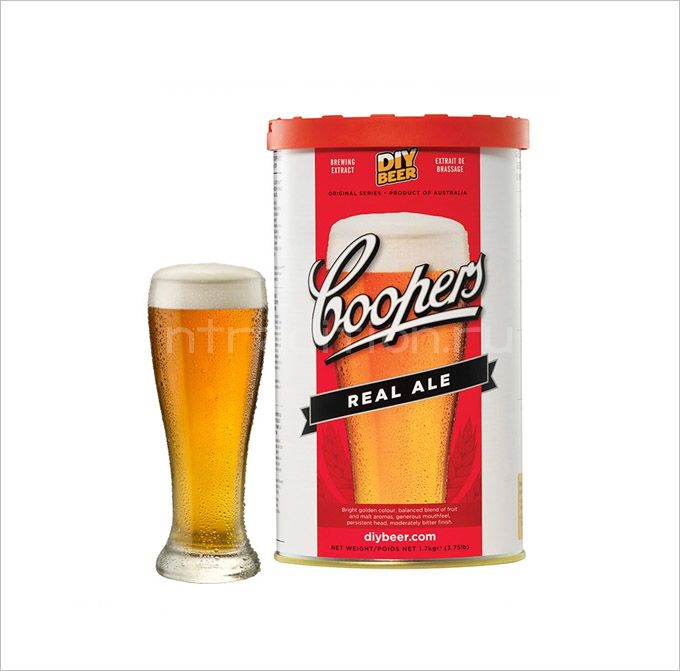 Coopers Real Ale, 1,7 кг