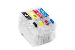 Комплект перезаправляемых картриджей для EPS TX200/C79 (белая упаковка)