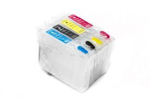 Комплект перезаправляемых картриджей для EPS TX106 (белая упаковка)