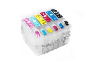 Комплект перезаправляемых картриджей для EPS P50 (белая упаковка)
