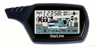 Брелок для сигнализации LCD Starline A91