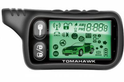 Брелок для сигнализации LCD Tomahawk TZ9030