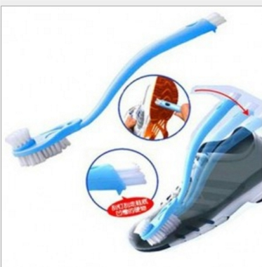 АКЦИЯ! Двухсторонняя щетка для чистки обуви
