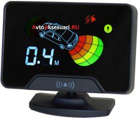 Парктроник передний/задний AAALine LCD-14