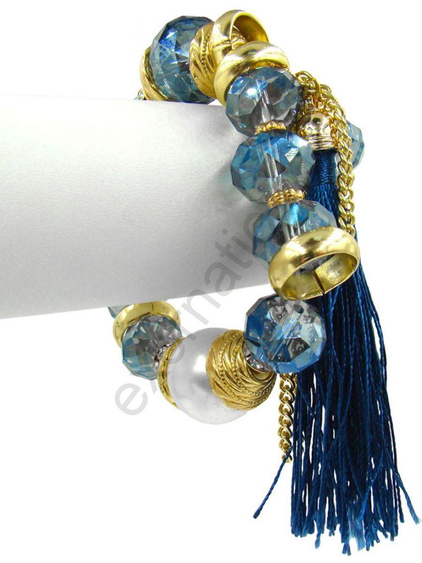 Браслет Taya LX (T-B-9972) BRAC GL.D.BLUE