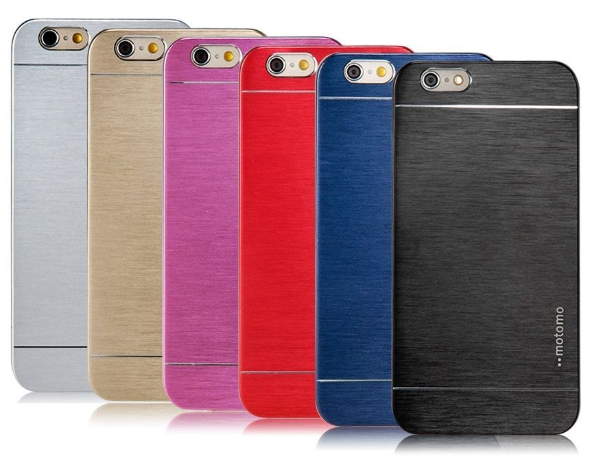 Чехол алюминиевый для iPhone 6/6S MOTOMO