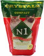 № 1 Crystals Compact Комкующийся наполнитель (5 л)