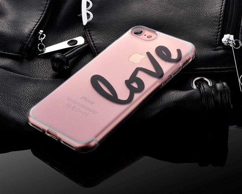 Силиконовый чехол для iPhone 6/6s (Love)