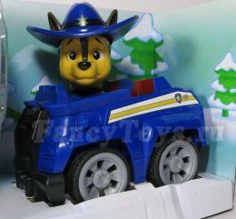 Гонщик на полицейской машине с музыкой и светом (Щенячий патруль)