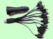 Универсальная USB зарядка ( автомобильная) на многие модели