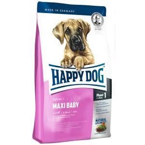Корм сухой Happy Dog Maxi Baby GR 29 для щенков крупных пород с птицей 4кг