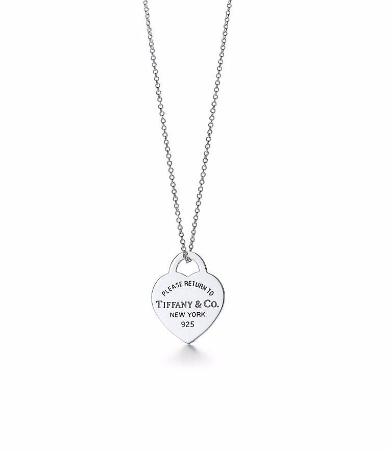 Подвеска с сердцем Tiffany®