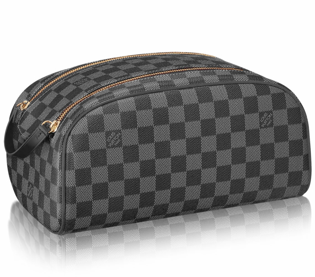 LOUIS VUITTON Graphite Toiletry НЕСЕССЕР