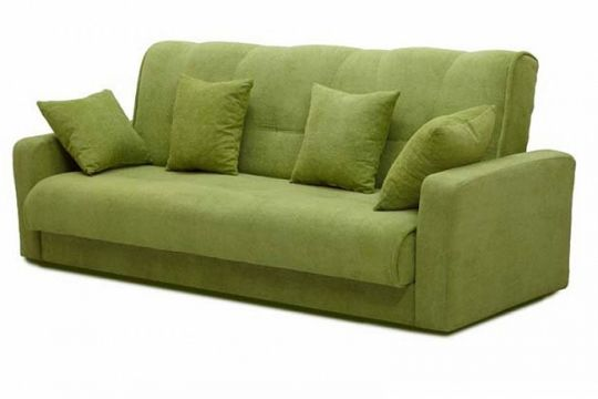 Диван-книжка Милан зеленый