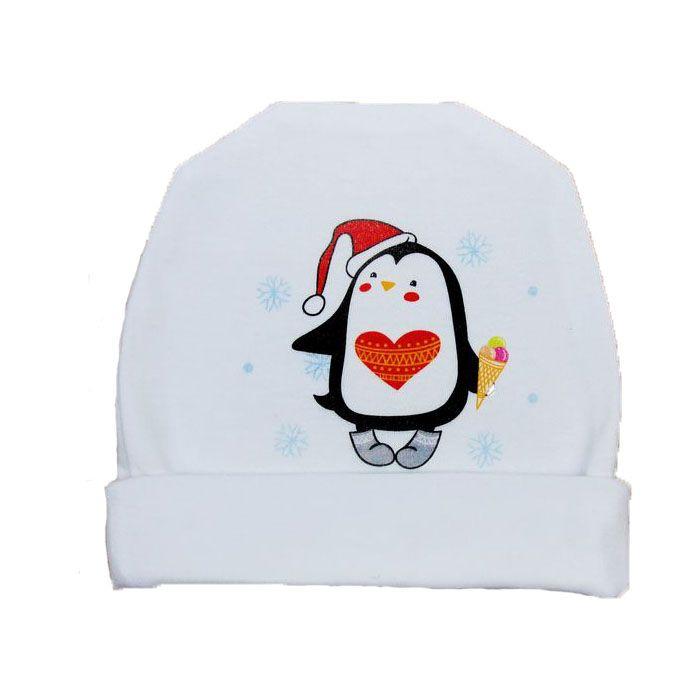 Белая шапочка Пингвинчик