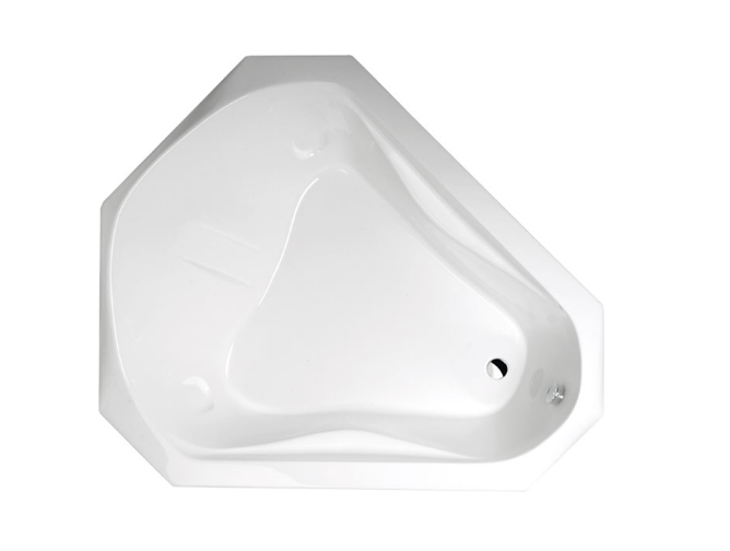 Акриловая ванна Alpen Samora 163x139 без гидромассажа