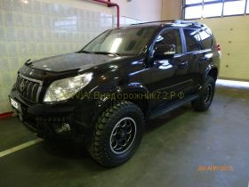 Расширители колесных арок узкие для Toyota Land Cruiser Prado 150