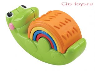 Пирамидка CDC48 Крокодильчик Fisher-Price