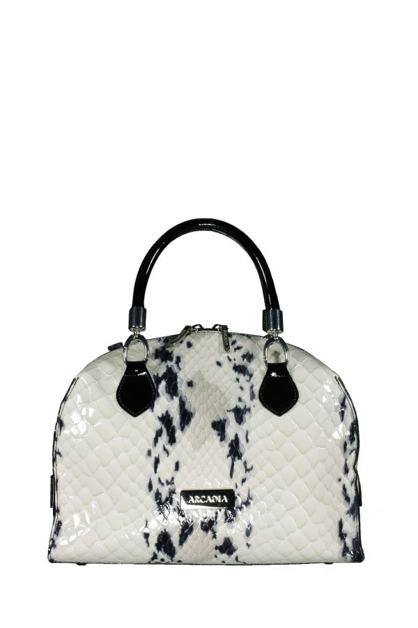 Белая сумка Arcadia