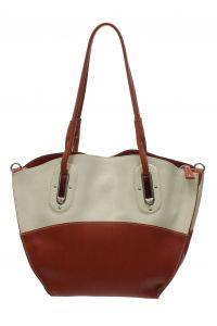 Бежевая сумка Di Gregorio