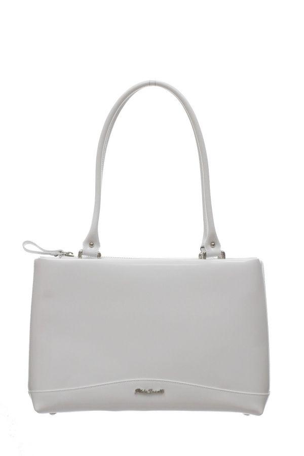 Белая сумка Gilda Tonelli