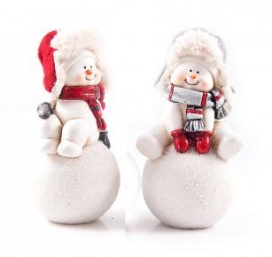 Забавный снеговик. Новый год