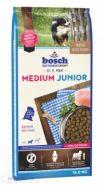 Bosch Junior Medium Полнорационный корм для щенков средних пород (15 кг)